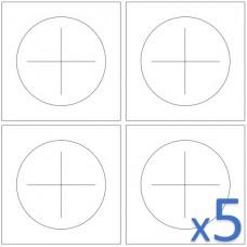 QQI | 625552 | CX4-230 | KSC4-230 (Set of 5)