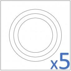 QQI | 625555 | 3C4-234 | KSC4-234 (Set of 5)