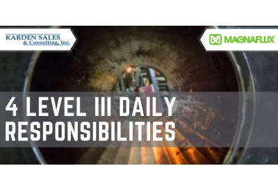 4 Level III Daily Responsibilities