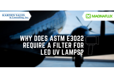 Why Does ASTM E3022 Require a Filter for LED UV Lamps?