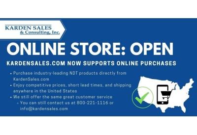 Announcement: Karden Sales' Online Store is Now Open